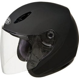 GMax GM17 SPC Open Face Helmet Black