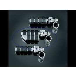 Kuryakyn ISO Pegs Dually 1-1/4 Inch Magnum Quick Clamps