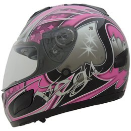 Vega Womens Insight Ace Quick Release Full Face Helmet Pink