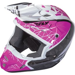 Fly Racing Womens Kinetic Crux Helmet Pink