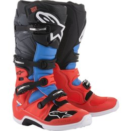 Alpinestars Mens Tech 7 MX Motocross Off-Road CE Riding Boots Red