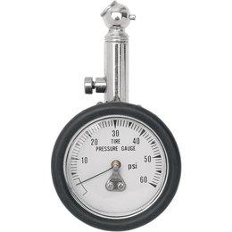 Drag Specialties 60 Psi Tire Pressure Gauge 45 Degree 0363-0018