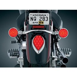 Kuryakyn Triple Whammy Run Brake Light Kit For Yamaha