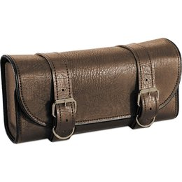 River Road Fork Mounted Tool Pouch Brown Brown