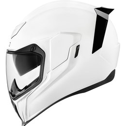 Icon Airflite Gloss Full Face Helmet White