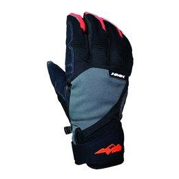 Grey, Orange Hmk Mens Union Textile Snow Gloves Grey Orange