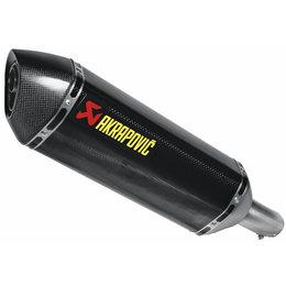 Akrapovic Slip-On Exhaust For Suzuki GSXS750 2015 Carbon Fiber S-S7SO1-HRC Unpainted