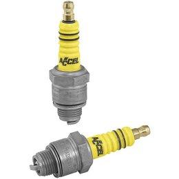 Accel U-Groove Spark Plugs For Harley Pan Shovelhead 48-74