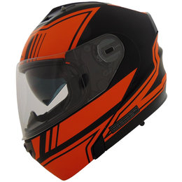 Vega Stealth Vertice Vivid Quick Release Modular Helmet Orange