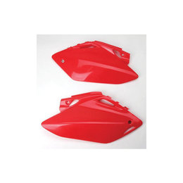 UFO Plastics Side Panels Red For Honda CRF250/450R 11