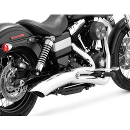 Vance & Hines Big Radius 2 Into 1 Catalytic Full Exhaust For Harley Dyna 28013