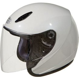 GMax GM17 SPC Open Face Helmet White