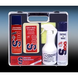 N/a S100 Motorcycle Clean Detail Wax Protect Care Set
