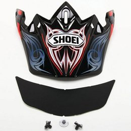 Red Shoei Replacement Visor For Vfx-w Illusion Helmet