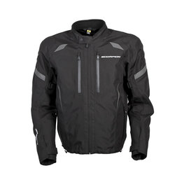 Scorpion Mens Optima Armored Textile Riding Jacket Black