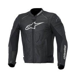 Black, White Alpinestars Mens Gp Plus R Leather Jacket 2014 Eu 48 Black White
