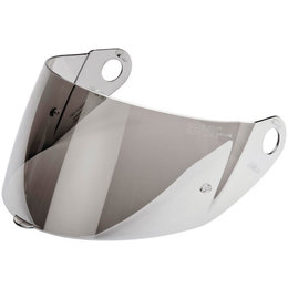 Metallic Silver Nolan Replacement Shield For N90 N-com Modular Helmet One Size