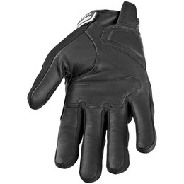 Black Speed & Strength Run With The Bulls Leather Textile Gloves