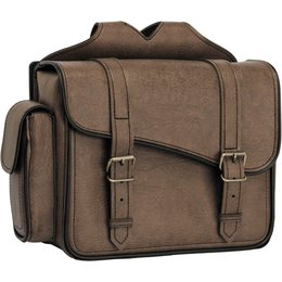 River Road Compact Quick Release Saddlebags Brown Brown
