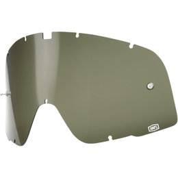 100% Barstow Goggle Dalloz Curved Replacement Lens Green