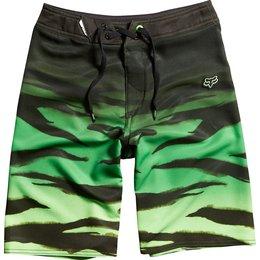 Acid Green Fox Racing Boys Machete Boardshorts 2014 Us 23