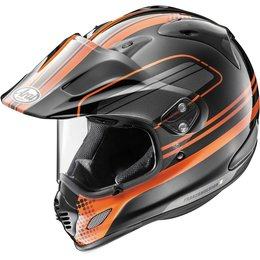 Arai XD-4 Distance Dual Sport Helmet With Flip Up Shield & Visor Orange
