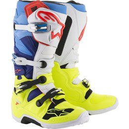 Alpinestars Mens Tech 7 MX Motocross Off-Road CE Riding Boots Yellow