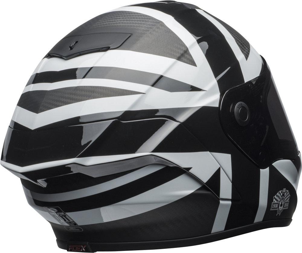 Bell Full Face Helmet >> $799.95 Bell Powersports Race Star Ace Cafe Blackjack #1077491