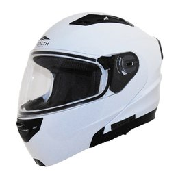 Vega Stealth Vertice Modular Helmet With Quick Release Chin Strap White