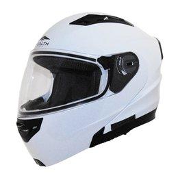 Vega Stealth Vertice Modular Helmet With Quick Release Chin Strap White