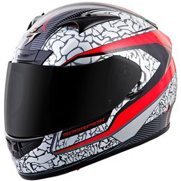 Scorpion EXO-R710 EXOR710 Flight Full Face Helmet Grey