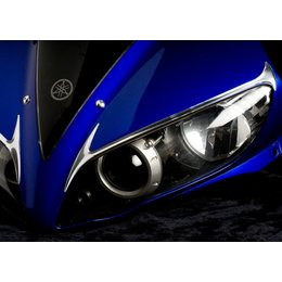 Chrome Cycle Pirates Headlight Trim For Yamaha Yzf-r1 04-06