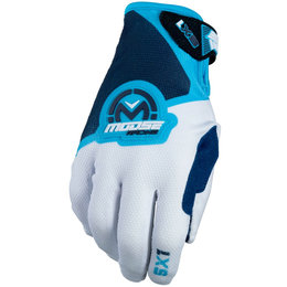 Moose Racing Mens SX1 MX Motorcross Gloves Blue