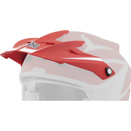 Red Answer Replacement Visor For Comet Storm Helmet