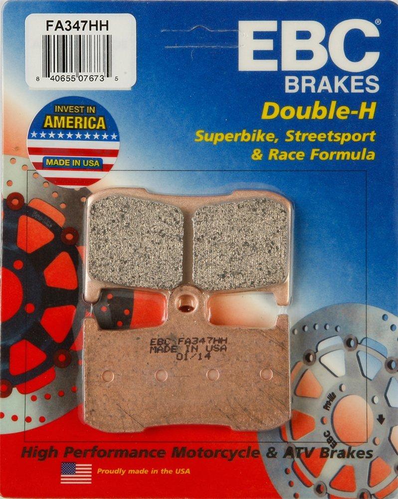 TRIUMPH DAYTONA 675 FRONT EBC FA347HH BRAKE DISC PADS
