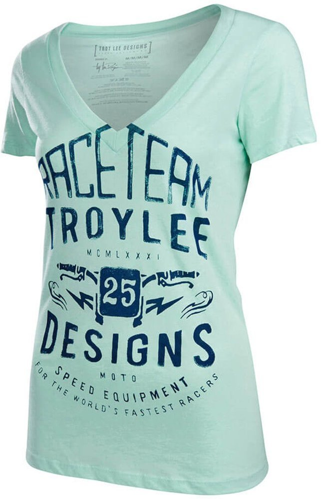 Troy lee designs womens winning cotton v neck 1003739 for Design a shirt coupon