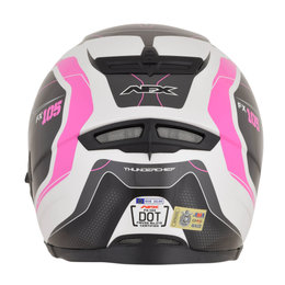AFX Womens FX-105 FX105 Thunderchief Full Face Helmet Pink