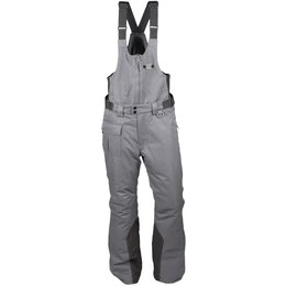 Divas Womens Arctic Appeal Bib Snow Pants Grey