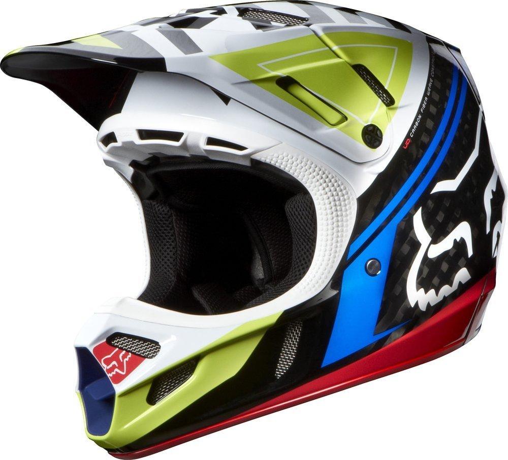 Full Face Cruiser Helmets >> $549.95 Fox Racing Mens V4 Intake Helmet 2014 #194966