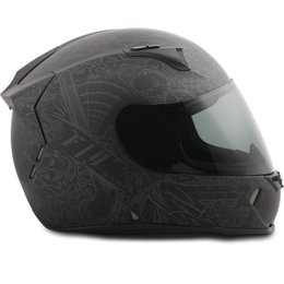Fly Racing Revolt FS Ink N Needle Full Face Helmet Black