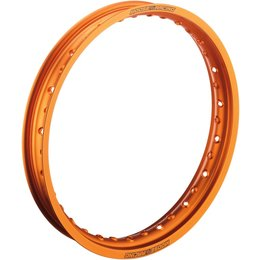Moose Racing Rear Rim 2.15x18 KTM Suzuki Yamaha Orange 0210-0326 Orange