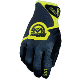 Moose Racing Mens SX1 MX Motorcross Gloves Black