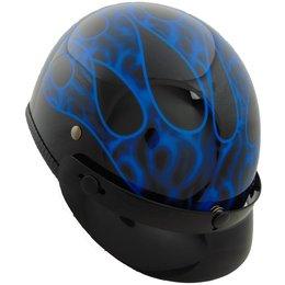 Vega XTA XT-A Flame Half Helmet Blue