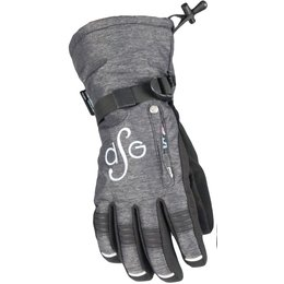 Divas Womens Lily Collection Winter Gloves Black