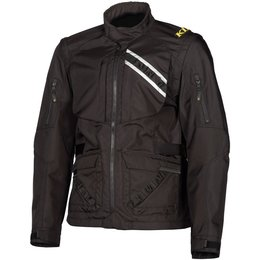 Klim Mens Dakar MX Offroad Detachable Sleeves Textile Jacket Black