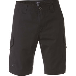 Fox Racing Mens Slambozo Cargo Cotton Canvas Shorts Black