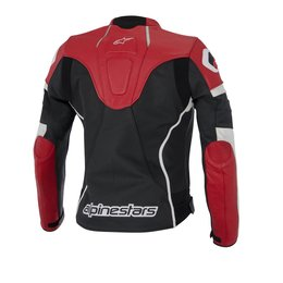 Black, White, Red Alpinestars Womens Stella Gp Plus R Leather Jacket 2014 Eu 40 Black White Red