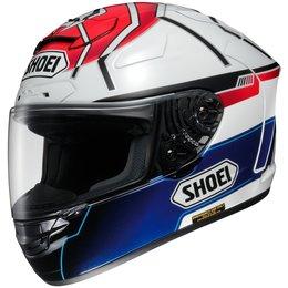 Red Shoei X-twelve X-12 X12 Motegi Marquez Replica Full Face Helmet