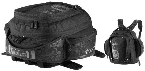 100 00 Icon Urban Tank Bag Backpack 140842