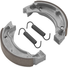 BikeMaster Replacement Brake Shoes For Yamaha MBS2229A Unpainted